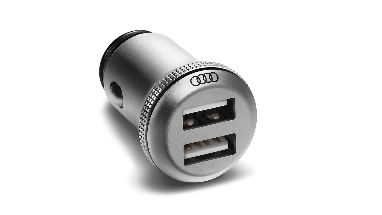 USB charging adapter (dual)