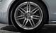 Aluminium-Gussräder Audi Sport im 7-Doppelspeichen-Design, anthrazitschwarz glänzend, Größe 9 J x 20, mit Reifen 265/30 ZR 20
