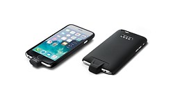 Funda de carga inductiva, Para Apple iPhone 6/6S, Wireless Charging según el estándar Qi