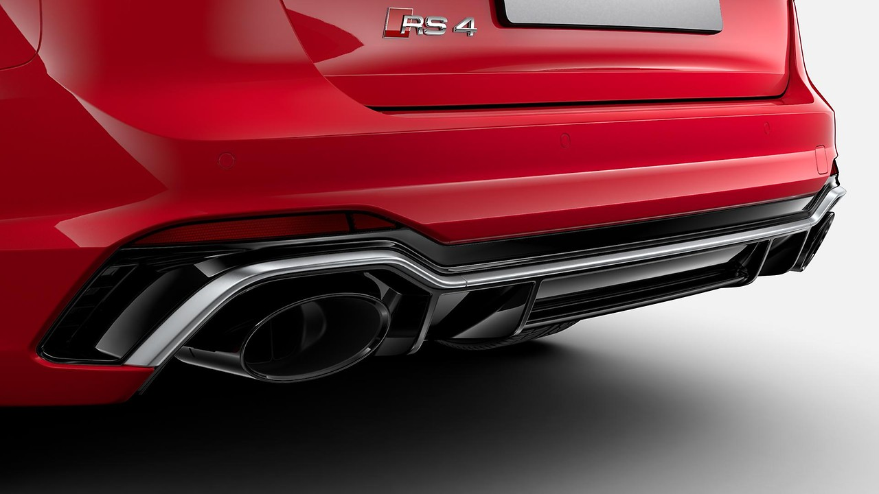 RS Sport exhaust system