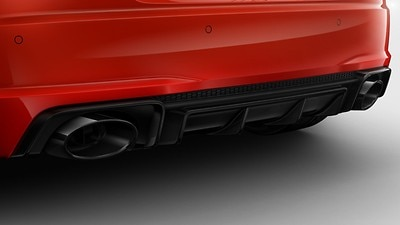 RS Sport Exhaust System with Black finish