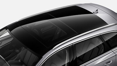 Panoramic glass sunroof