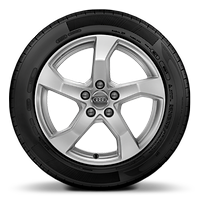 Alloy wheels 7.5J x 17, 5-arm style, ET43