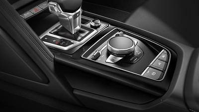 Decorative inserts in Black Piano Lacquer look, Audi exclusive