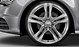 Cast aluminium alloy wheels, 5-spoke V design, size 8.5J x 19, with 255/40 R tyres
