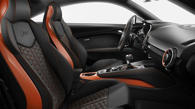 Pacchetto design Nero-Pulse Orange Audi exclusive