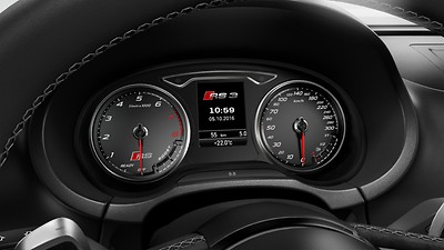 RS instrument cluster