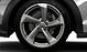 Легкосплавные диски Audi Sport, дизайн «5 рукавов Turbine», цвет magnesium, полированные, размер 8,5J x 19