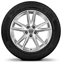 "18"" x 7.0J '5-spoke Y' design alloy wheels with 215/50 R18 tyres"