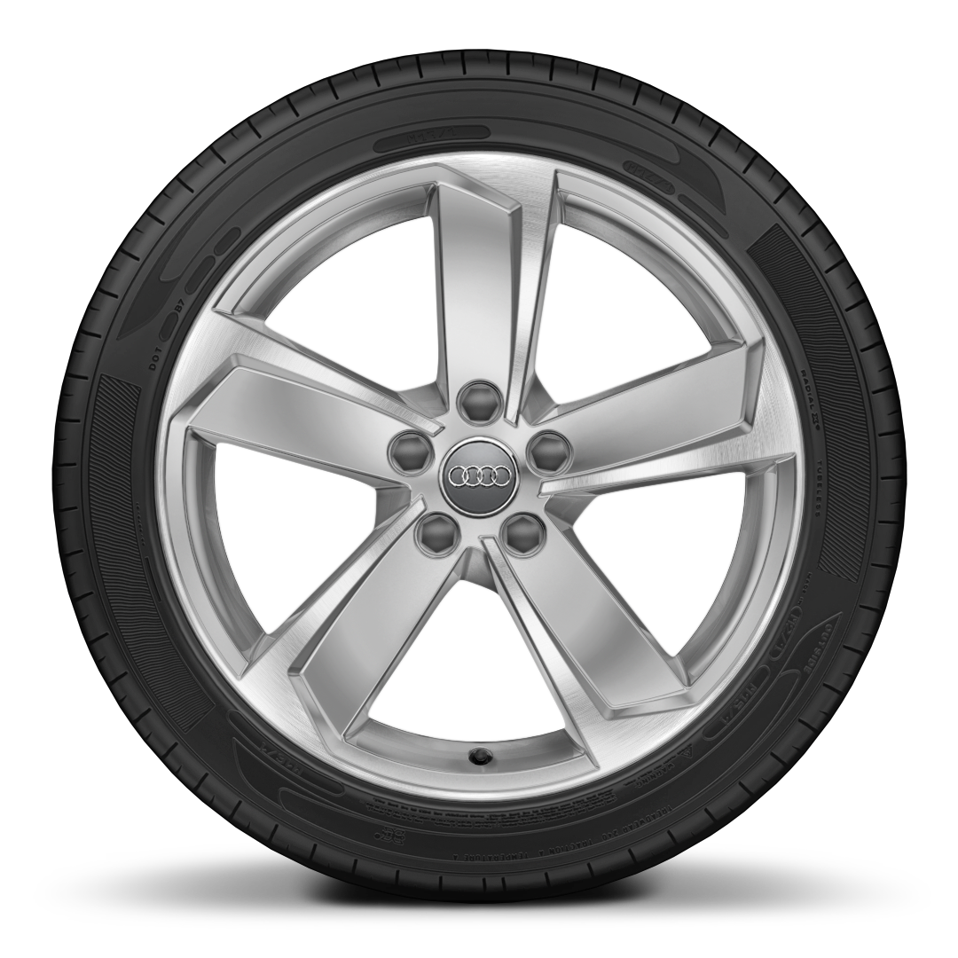 "18"" x 8.0J '5-arm dynamic' design alloy wheels, diamond cut finishwith 225/40 R18 tyres"