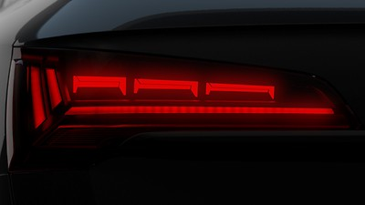 OLED rear combination lamps with specific rear position light signature 3