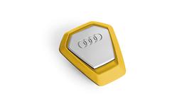 Duftspender Audi Singleframe, gelb, belebend