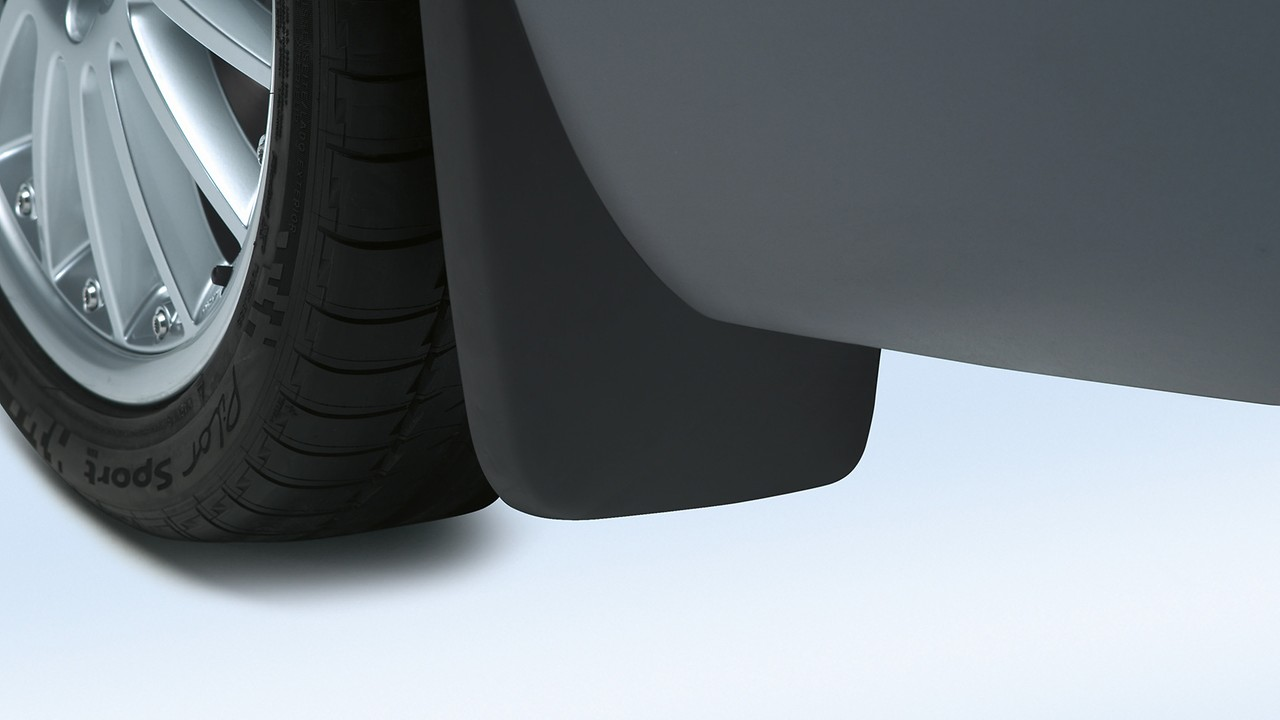 Mud flaps, for the rear, for vehicles with S line exteriour package