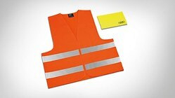 High-visibility vest set, for adults