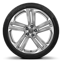 Alloy wheels, 5-parallel-spoke style (S style), 8.5J x 21, 255/35 R21 tires