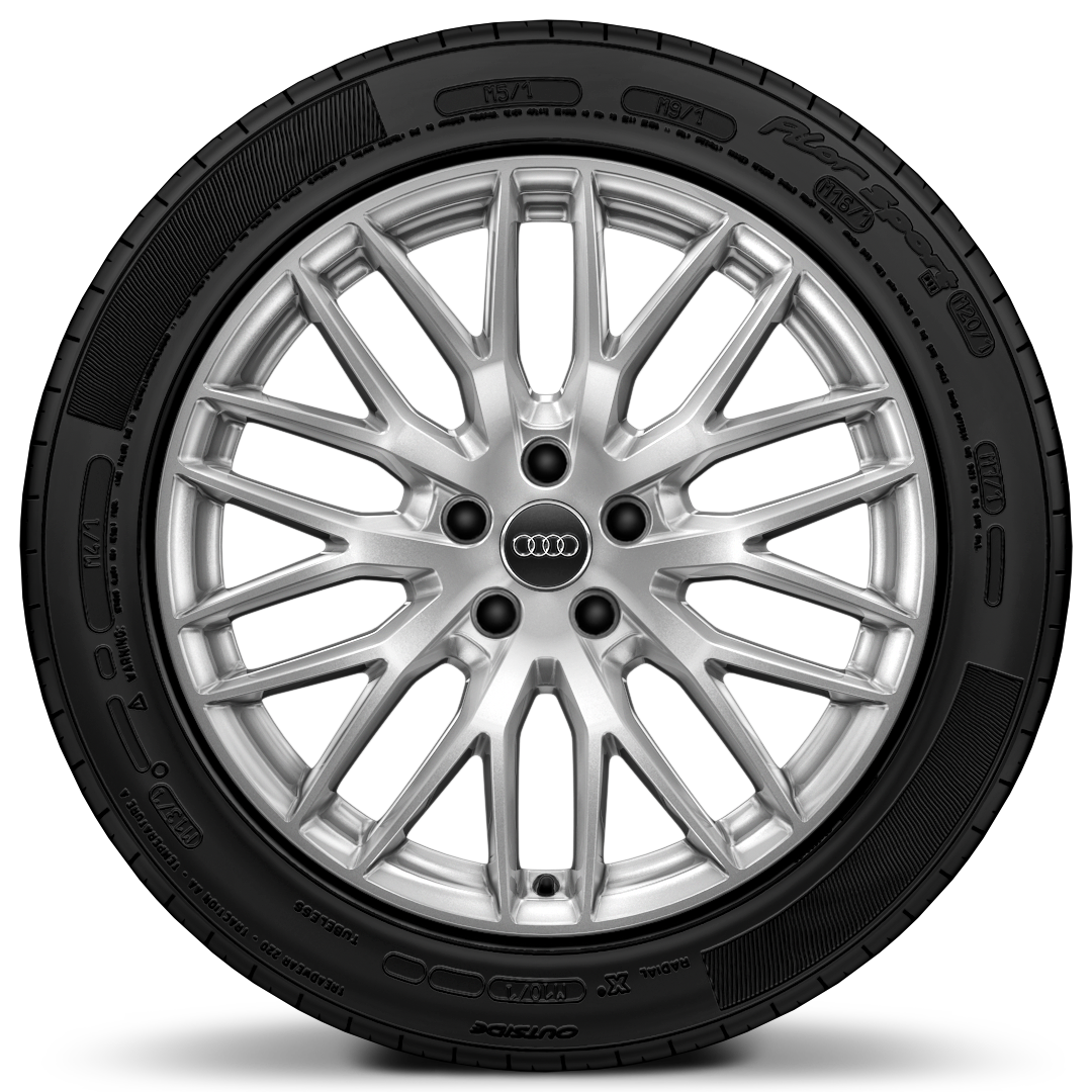 "19""x 8.0J '10-Y-spoke' design alloy wheels with 235/40 R19 tyres"