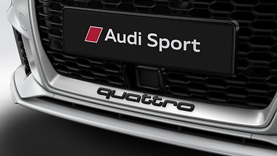 Adaptive cruise control with stop & go function including Audi pre sense front