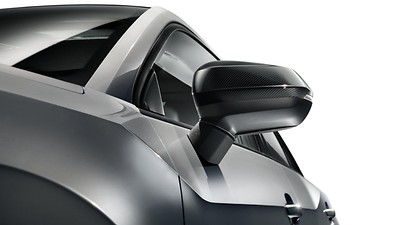 Exterior mirror housings in carbon