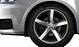 Cast aluminium alloy wheels, 5-arm design, other-coloured trim elements, size 7.5J x 17, with 215/40 R17 tyres