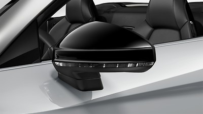 Exterior mirror housings in Glossy Black