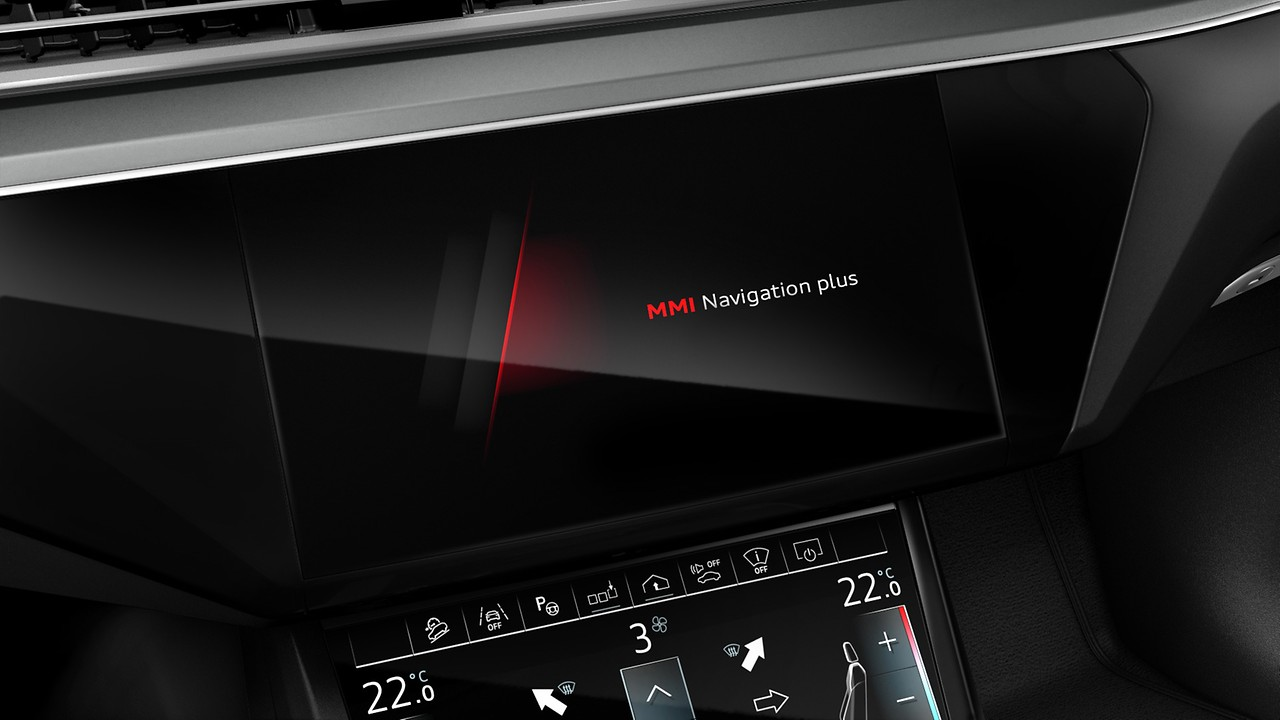 MMI® Navigation plus with Audi connect
