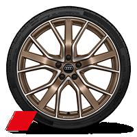 "20"" Audi Sport® bronze wheels"