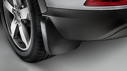 Mud flaps, for the front, for vehicles with and without S line exterior package