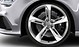 Cast aluminium alloy wheels, 5-spoke blade design, size 9J x 21, with 275/30 R 21 tyres