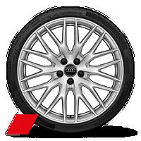 Leichtmetallräder, 10-Y-Speichen-Design, 9 J x 20, Reifen 255/30 R 20, Audi Sport GmbH