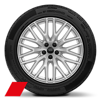 Alloy wheels, 10-spoke Y-style, 9.0J x 20, 285/45 R20 tires, Audi Sport GmbH