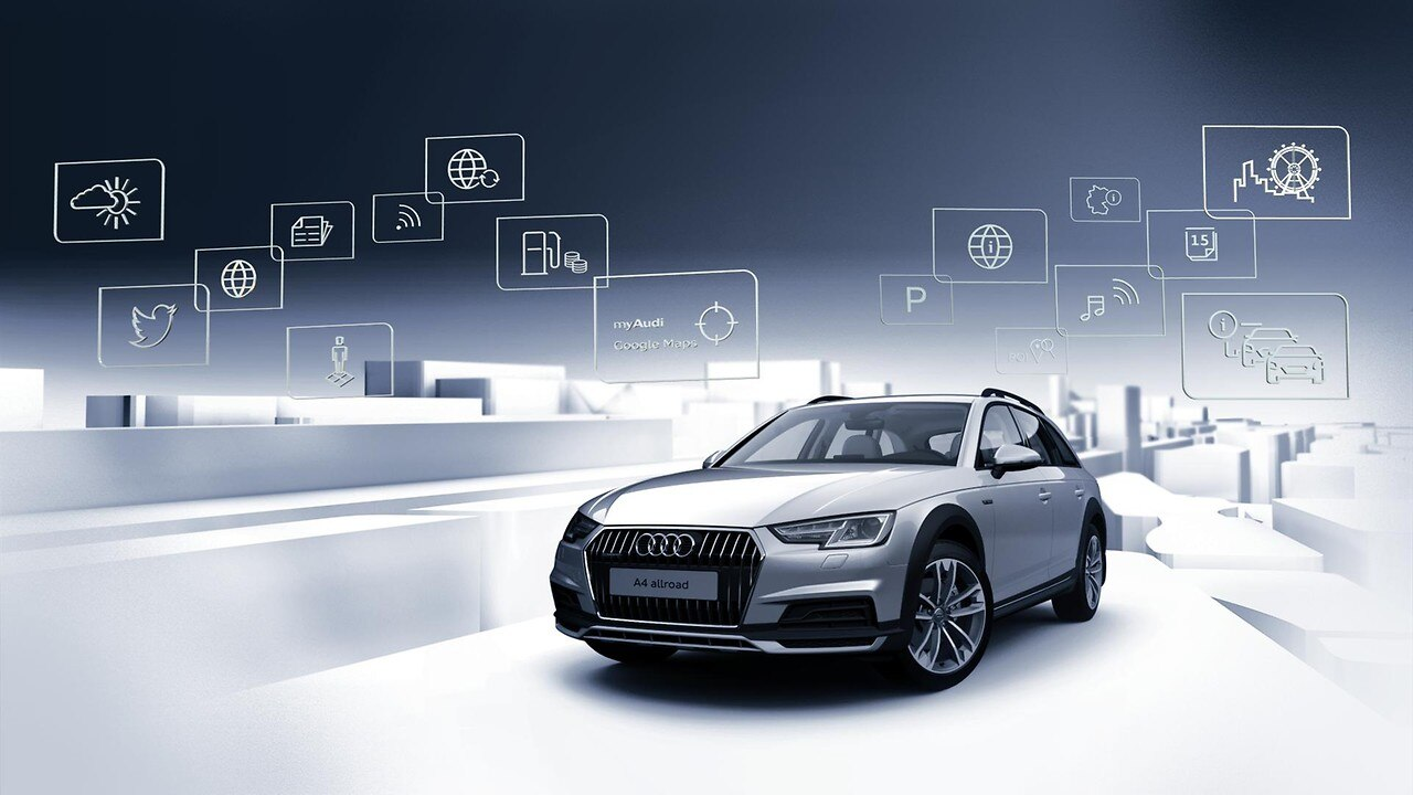 Audi Connect Navigation & Infotainment (3 måneder)