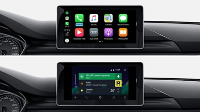 Interface smartphone Audi