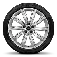 Alloy wheels, 10-spoke dynamic style, 8.5J x 19, model-specific tires