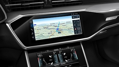 MMI Navigation plus mit MMI touch response