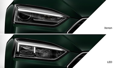 LED daytime-running lights