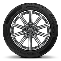 20 x 9J '10-spoke star' design alloy wheel in contrasting grey with 285/45 R20 tyres