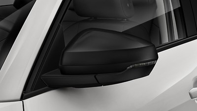 Exterior mirror covers in Black