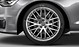 Audi Sport cast aluminium alloy wheels, 10 Y-spoke design, size 8.5 J x 19, 255/40 R 19 tyres
