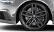 Cast alum. alloy wheels, 5-twin-spoke design, titanium look, machine-pol., 9.5J x 21, with 285/30 R21 tyres