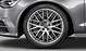 Audi Sport cast aluminium alloy wheels, 10 Y-spoke design, size 8.5 J x 19, 255/40 R 19 tyres