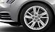 Cast aluminium alloy wheels, 5-arm facet design, size 7J x 16, with 205/60 R16 tyres