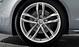 Aluminium-Gussräder Audi Sport im 5-Doppelspeichen-Design, Größe 9 J x 20 mit Reifen 265/30 ZR 20