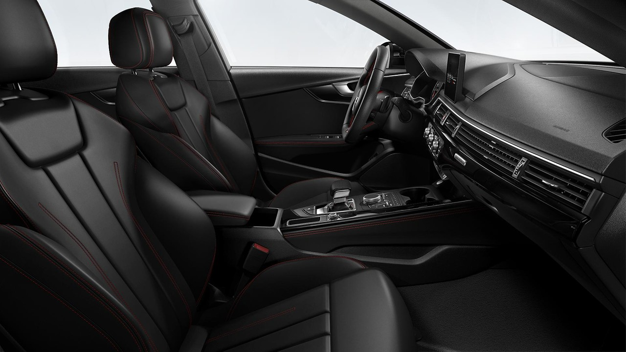 S line black interior package
