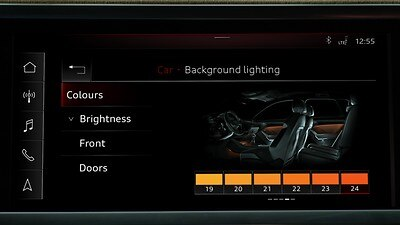Contour/Ambient Lighting package, multi-color
