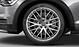 Aluminium-Gussräder Audi exclusive im 7-Doppelspeichen-Design, Größe 8,5 J x 19 mit Reifen 255/45 R 19