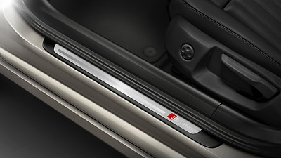 Door sill trims with S line logo