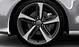 Легкосплавные диски Audi Sport, дизайн «5 спиц Blade», titan matt, с полированной обводкой, размер 9J x 20