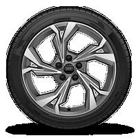 """18"""" 5-Y-spoke design wheels, bi-color finish"""