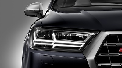 "Separate daytime running lights with low beam assistant and ""Coming Home"" feature"