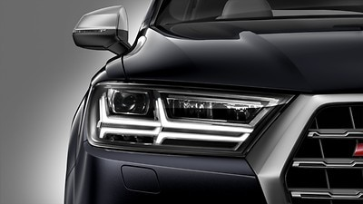 Separate daytime running light with automatic headlight control and manual Coming and Leaving Home feature